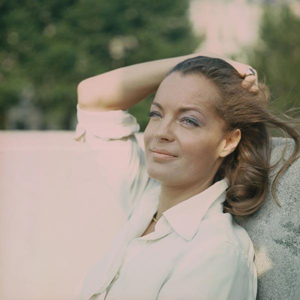 Helga Kneidl. 'Romy Schneider, Paris, 1972'