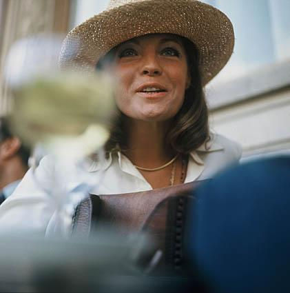 Helga Kneidl. 'Romy Schneider, Paris, 1973'