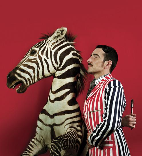 Eduardo Sourrouille. 'Self-portrait with a proud friend' 2008