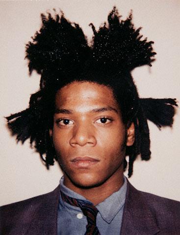 Andy Warhol. 'Jean-Michel Basquiat' Polaroid 1982