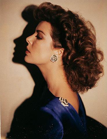 Andy Warhol. 'Princess Caroline of Monaco' Polaroid 1981