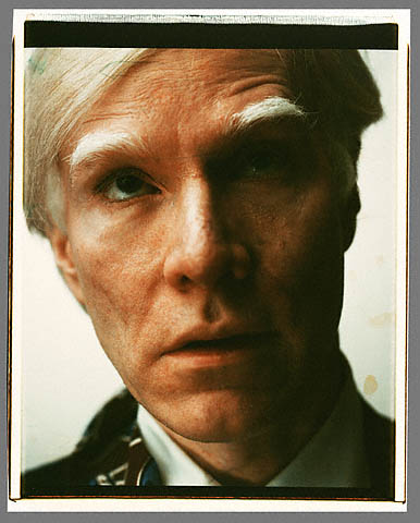 Andy Warhol. 'Self portrait' Polaroid 1979