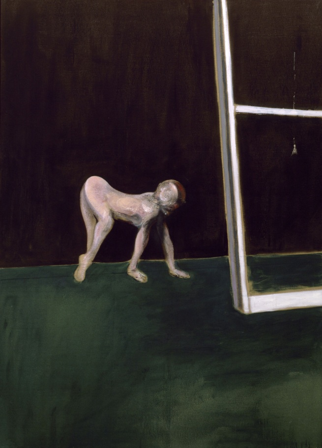 Francis Bacon. 'Paralytic Child Walking on All Fours (from Muybridge)' 1961