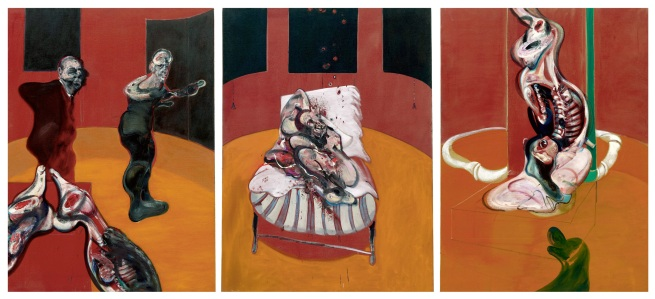 Francis Bacon (1909-1992) 'Three Studies for a Crucifixion' 1962