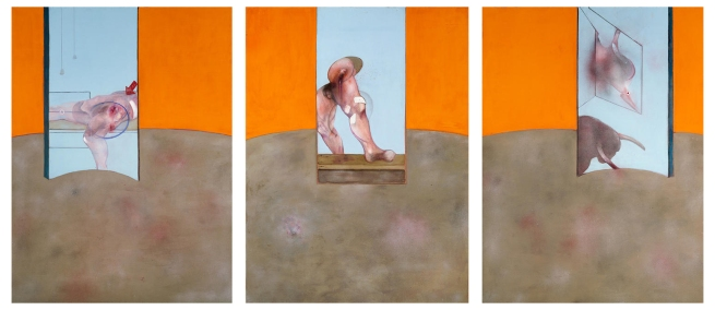 Francis Bacon (1909-1992) 'Triptych' 1987