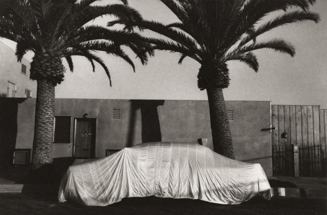 Robert Frank Americans 34 'Covered Car - Long Beach, California' 1956