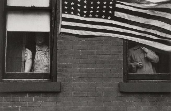Robert Frank Americans 1 'Parade - Hoboken, New Jersey' 1955