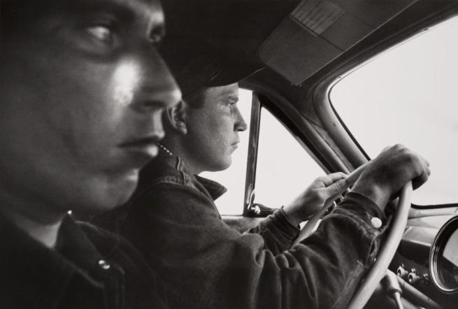 Robert Frank. Americans 32 'U.S. 91, Leaving Blackfoot, Idaho' 1956