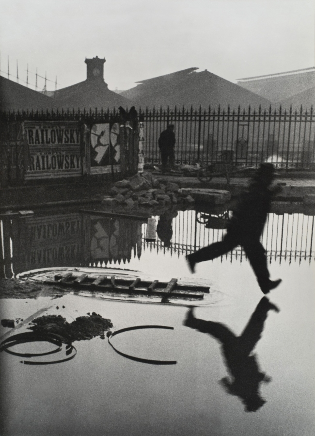Herni Cartier-Bresson. 'Behind Saint Lazare Station, Paris, France' 1932