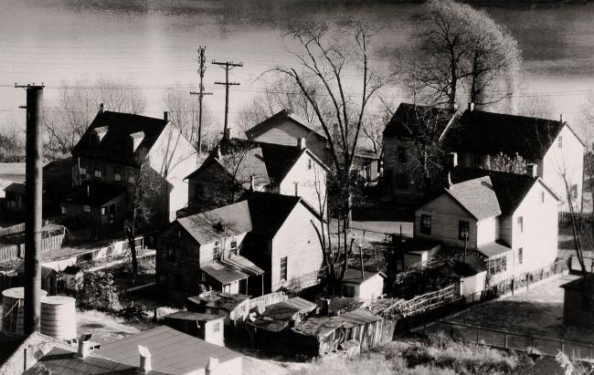 Walker Evans. 'View of Easton, Pennsylvania' 1935