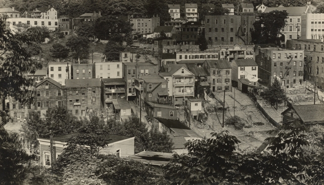 Walker Evans (American, 1903-1975) 'View of Ossining, New York' 1930-31
