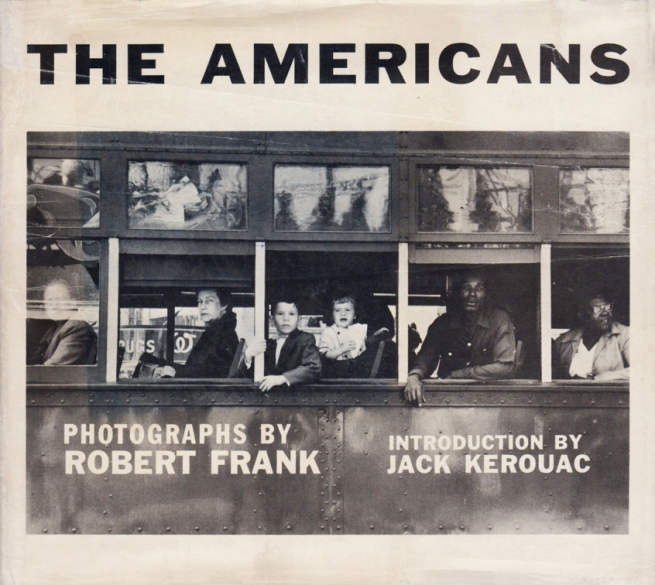Robert Frank 'The Americans' New York: Grove Press 1959 front cover