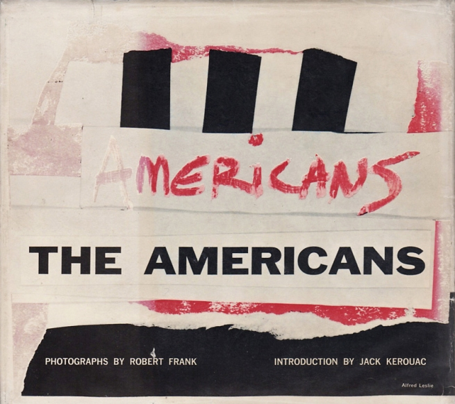 Robert Frank 'The Americans' New York: Grove Press 1959 back cover