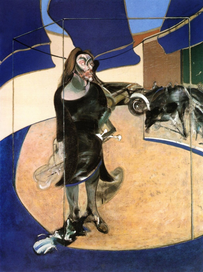 Francis Bacon. 'Portrait of Isabel Rawsthorne Standing in a Street in Soho' 1967