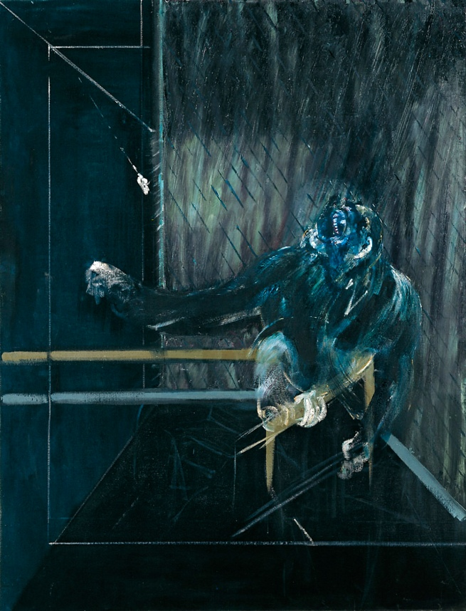 Francis Bacon. 'Chimpanzee' 1955