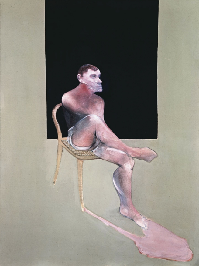 Francis Bacon. 'Portrait of John Edwards' 1988