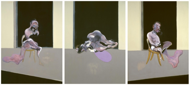 Francis Bacon (1909-1992) 'Triptych - August 1972' 1972