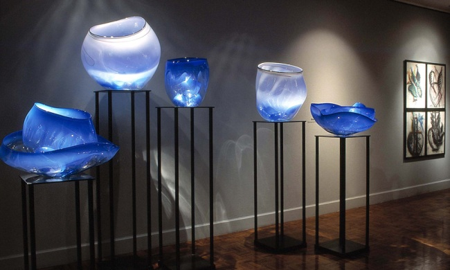 Dale Chihuly. 'Basket Forest' 2005