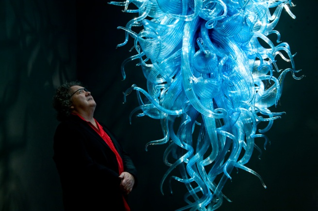 Dale Chihuly. 'Chiostro di Sant'apollonia Chandelier' (detail) 1996