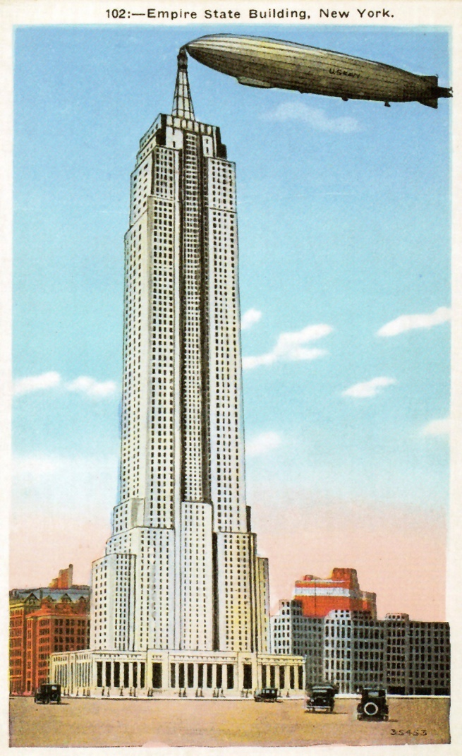 Unknown Artist. 'Empire State Building, New York' 1930s
