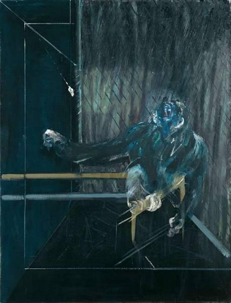 Francis Bacon. 'Chimpanzee' 1955