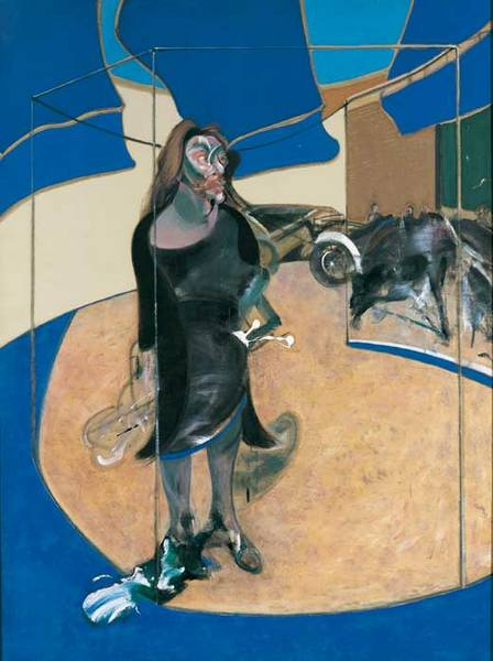 fFrancis Bacon. 'Portrait of Isabel Rawsthorne Standing in a Street in Soho' 1967