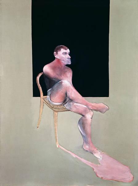 Francis Bacon. 'Portrait of John Edwards' 1988