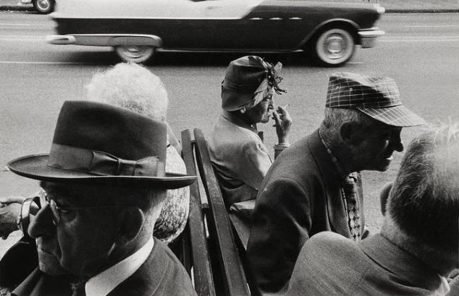 Robert Frank (American, born Switzerland, 1924) Americans 33 'St. Petersburg, Florida' 1955