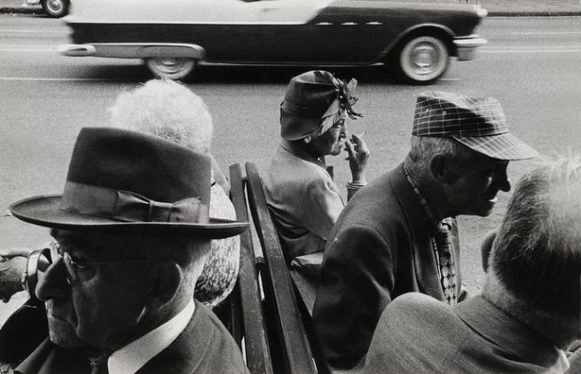 Robert Frank (American, born Switzerland, 1924) Americans 33 'St. Petersburg, Florida' 1955