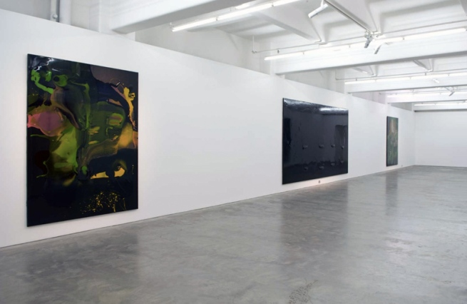 Dale Frank. 'The Big Black Bubble' installation view at Anna Schwartz Gallery, Melbourne 2009