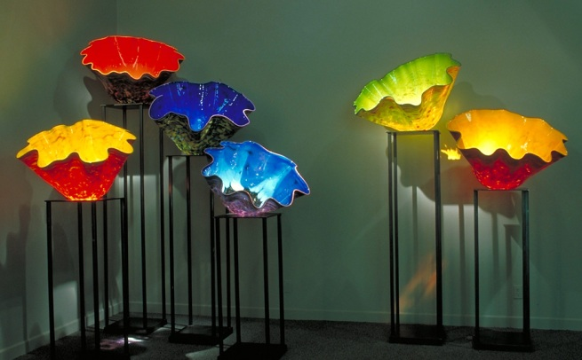 Dale Chihuly. 'Macchia Forest' 2004