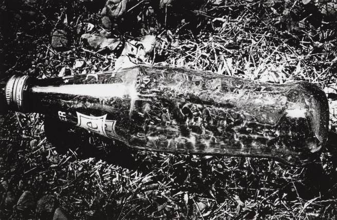 Daidō Moriyama (Japanese, born 1938) 'Untitled (Bottle)' from the series 'Light and Shadow' 1982