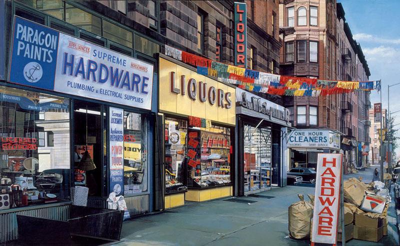 [Art] Peintures & autres oeuvres picturales Richard-estes-supreme-hardware-1974