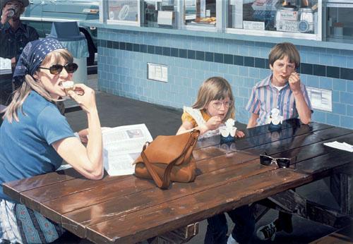 Robert Bechtle. 'Foster's Freeze, Escalon' 1975