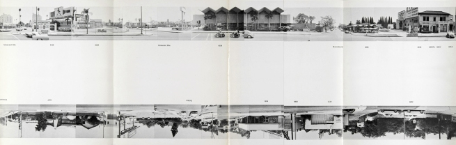 Ed Ruscha. 'Every Building on Sunset Strip' 1966