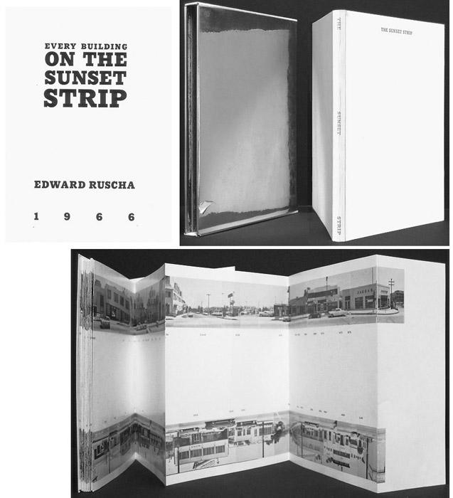 Ed Ruscha. 'Every Building on Sunset Strip' 1966