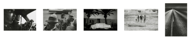 Robert Frank. Sequencing of 'The Americans' numbers 32- 36