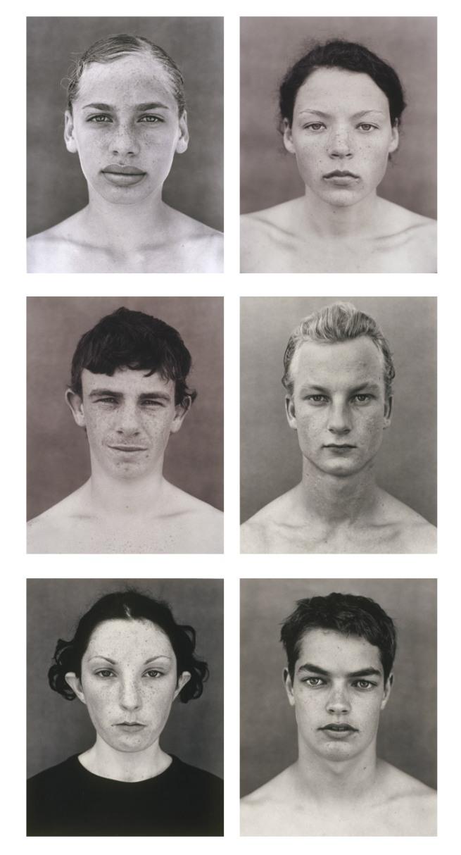 Simon Obarzanek. '6 faces from 123 faces' (2000–02)