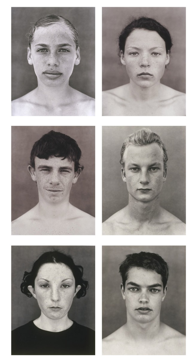 Simon Obarzanek. '6 faces from 123 faces' (2000–02)
