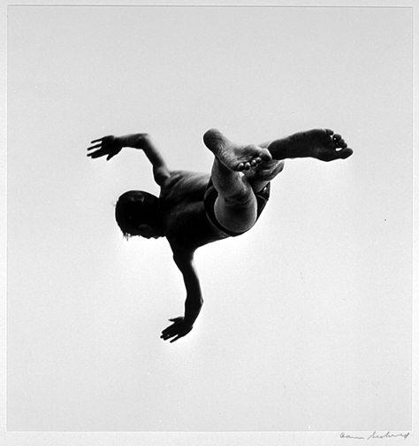 Aaron Siskind. 'Pleasures and Terrors of Levitation #37' 1956