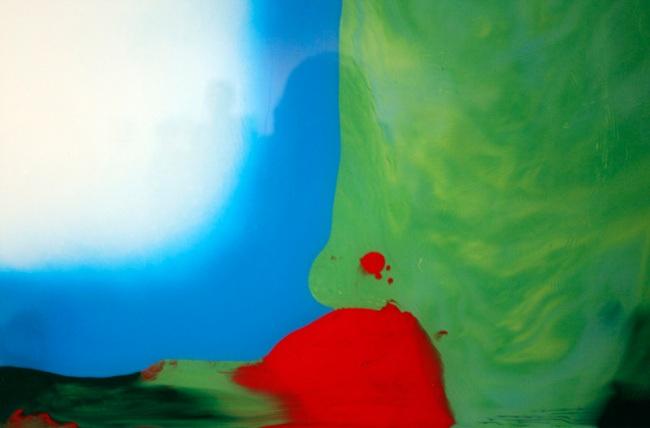 Louise Paramor. 'Slippery Slope' (detail) 2009