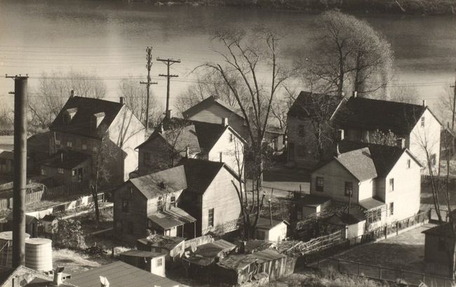 Walker Evans. 'View of Easton, Pennsylvania' 1935