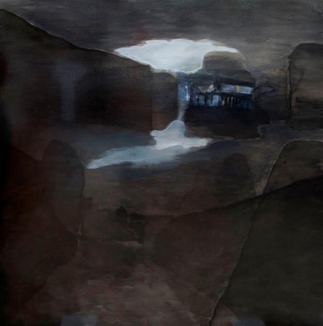 Domenico de Clario. 'l (le lapin agile - snow coming)' 2008/09