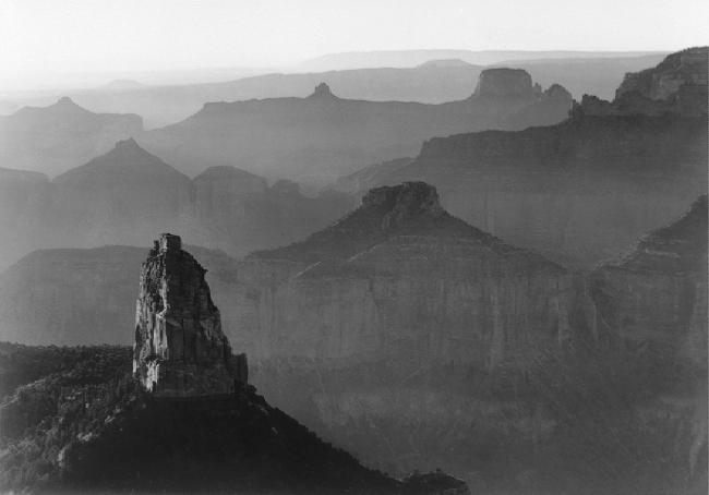 Ansel Adams (1902-1984) 'Grand Canyon National Park, Arizona' 1941