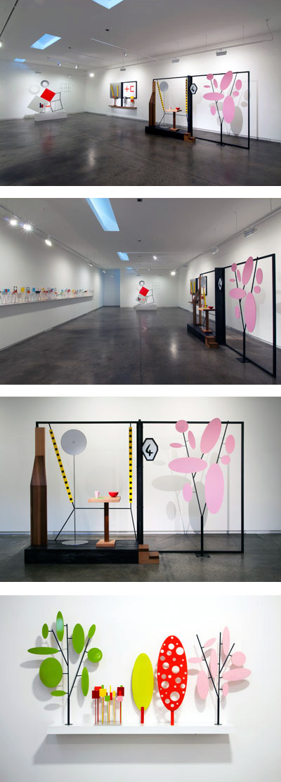 Peter Cole. 'Elements + Memories' installation views at John Buckley Gallery, Melbourne