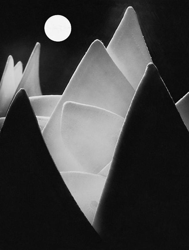Eugen Wiskovsky. 'Lunar Landscape or Collars' 1929