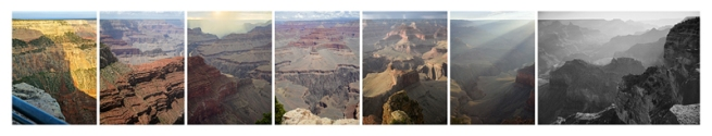 Mark Klett and Byron Wolfe. 'Panorama from Hopi Point on the Grand Canyon' 2007