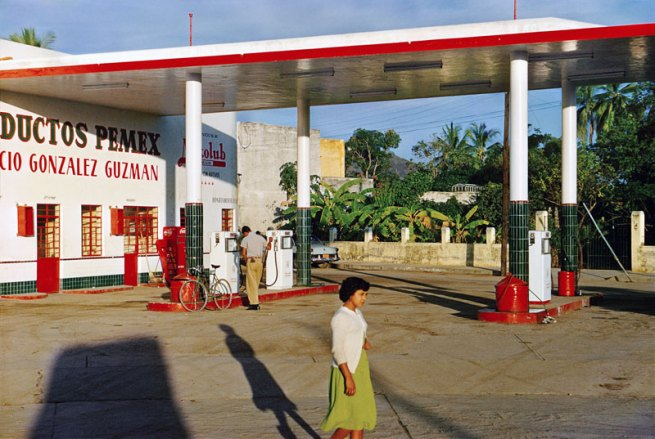 Paul Outerbridge. 'Gas Station, Mexico' c.1950