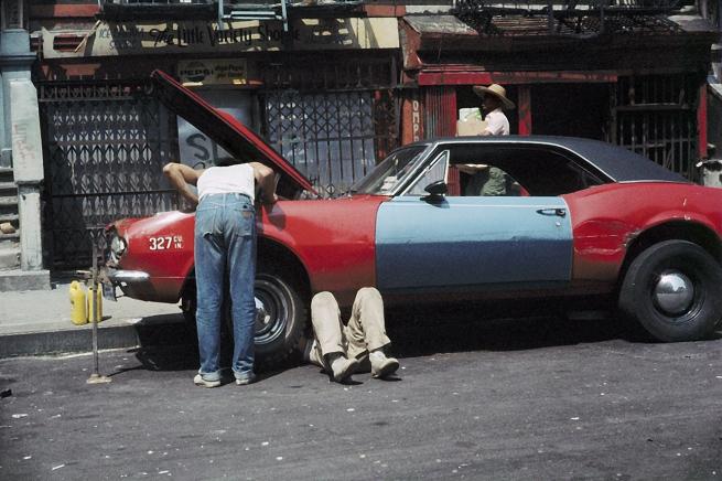 Helen Levitt. 'New York' c.1971