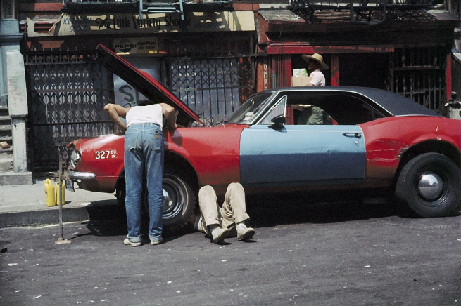 Helen Levitt. 'New York' c.1971